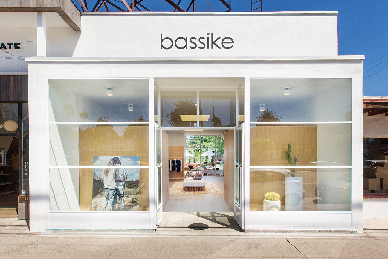 bassike venice store front