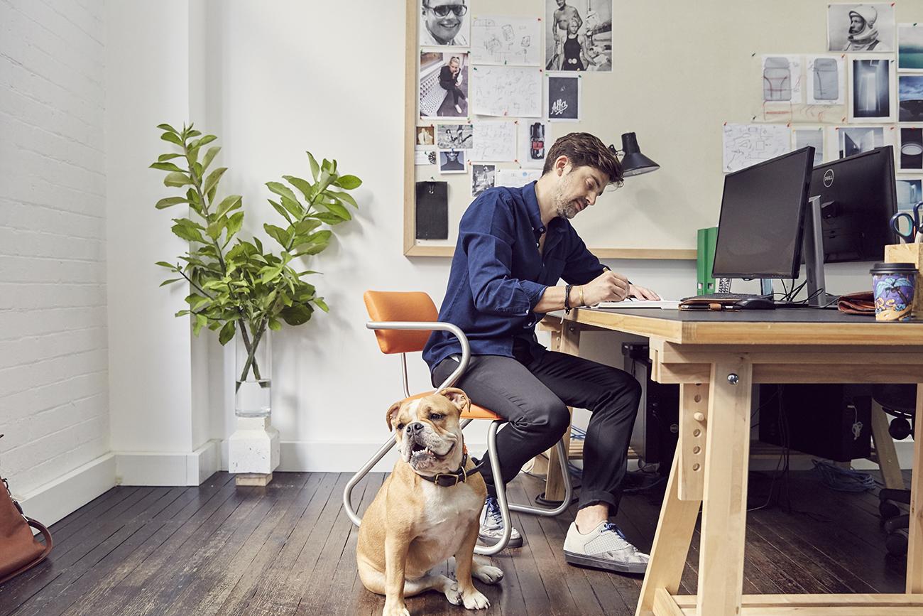 david caon desk color
