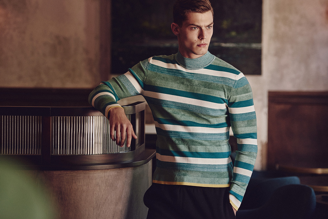STITCH UP | GREEEN STRIPE